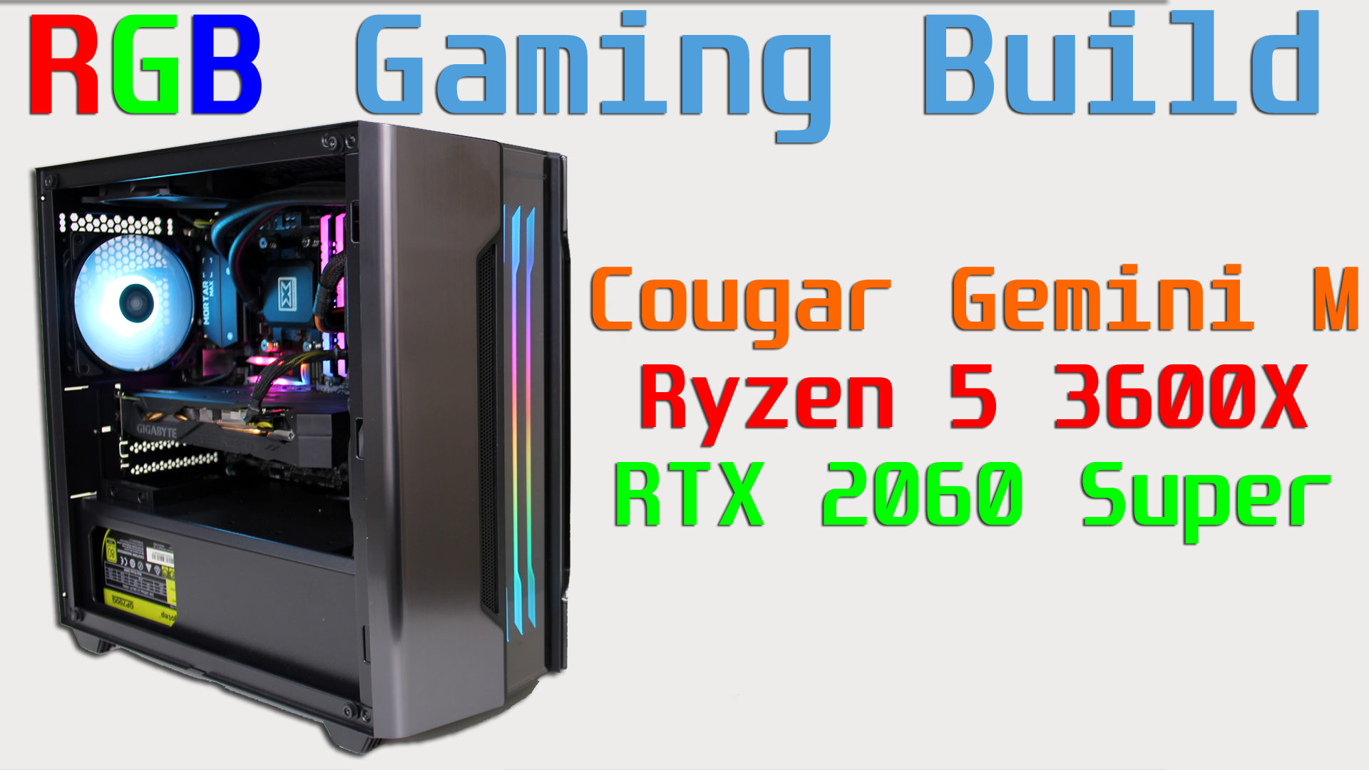 Cougar Gemini M Build