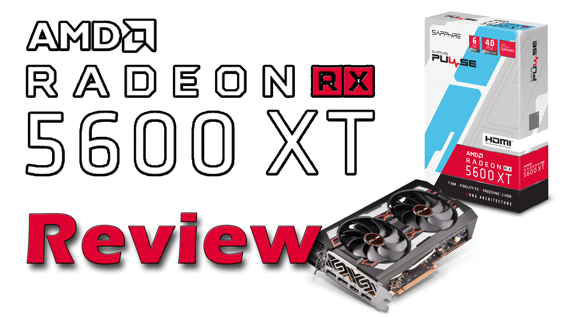 AMD Radeon RX 5600 XT Review