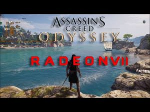 Assasins Creed Odyssey Gameplay On AMD Radeon VII And i5 8600K