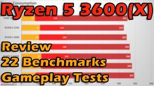 AMD Ryzen 5 3600/3600X Review