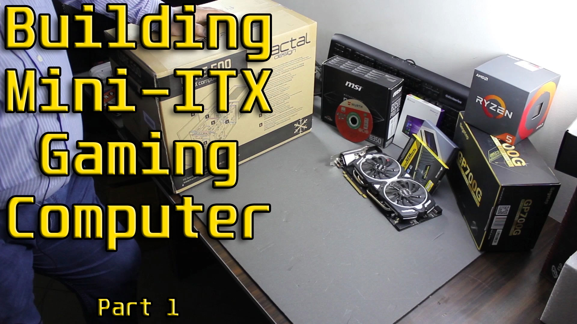 Building A Mid Level Gaming PC In Mini-ITX Case – 1/3: Parts