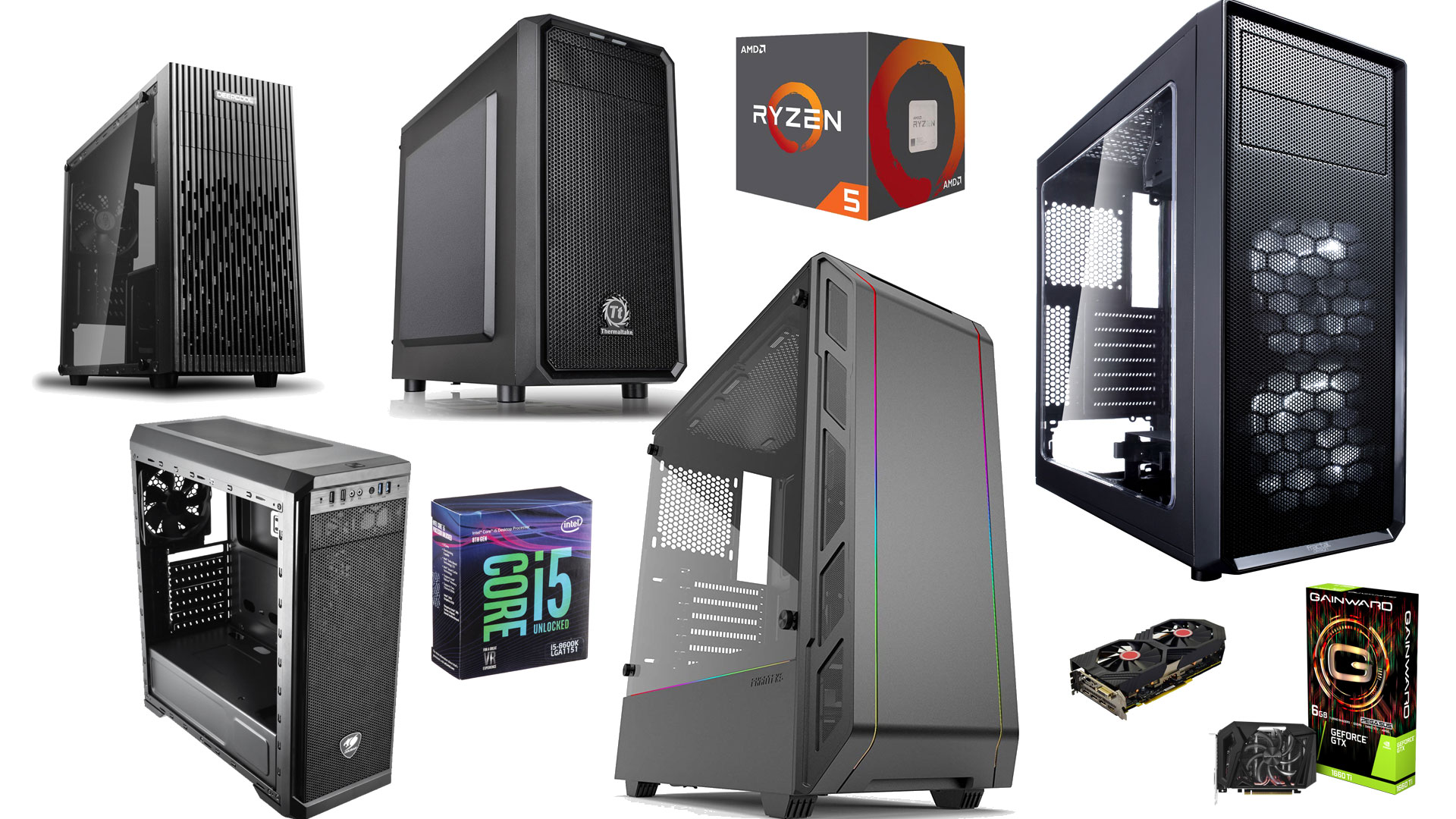 Gaming PC Builds Christmas 2019 Edition